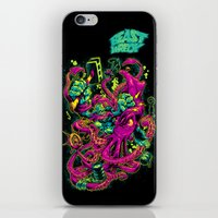 GORILLA VS. ARCHITEUTHIS iPhone & iPod Skin