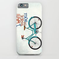 iPhone & iPod Case featuring Bicycle by Prince Arora