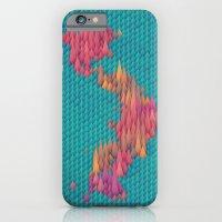 japan iPhone & iPod Cases featuring Japan by JR Schmidt