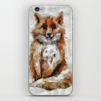 Foxy Fox iPhone & iPod Skin