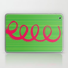 Curly Hair Laptop & iPad Skin