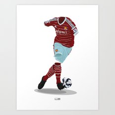 West Ham United 2014-15  Art Print