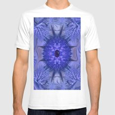 Blue Eye Mens Fitted Tee White SMALL
