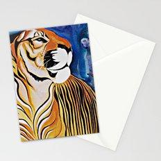 Golden Tiger Stationery Cards