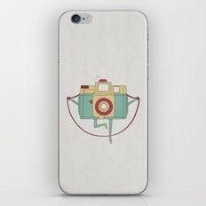 1, 2, 3, click! iPhone & iPod Skin