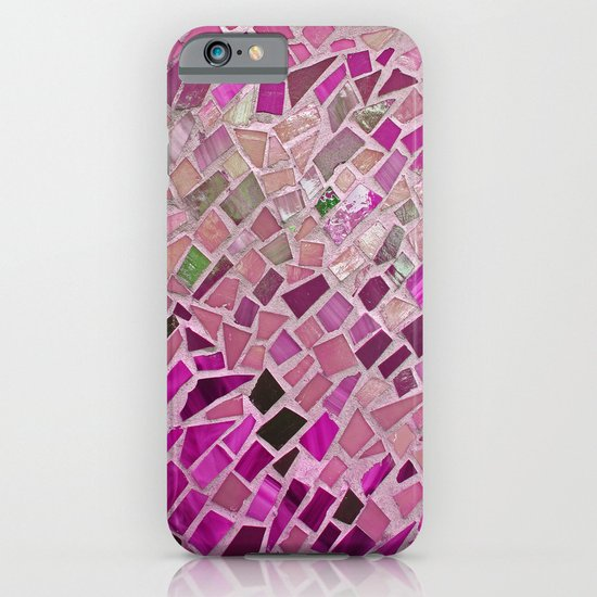 Little Pink Tiles iPhone & iPod Case