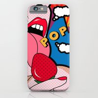 sexy iPhone & iPod Cases featuring sexy  by mark ashkenazi