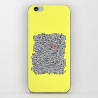 Stand Out  & Be Herd iPhone & iPod Skin