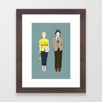 Breathless Framed Art Print