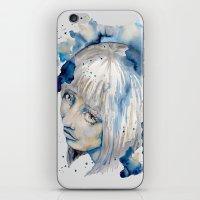 Nieves Watercolor Portra… iPhone & iPod Skin