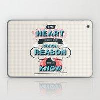 The Reason Laptop & iPad Skin