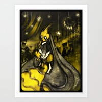 Golden Age Of Decadence Art Print