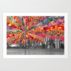 Blooming Toronto Art Print