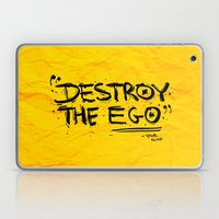 Destroy the Ego Laptop & iPad Skin