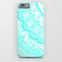 Doodle Madness AQUA iPhone 6 Slim Case