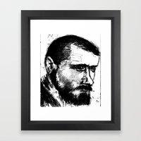 Portait2 Framed Art Print