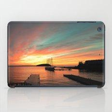Autumn Sunrise Bar Harbor maine iPad Case
