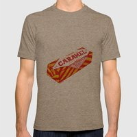 Caramel Wafer Pen Drawin… Mens Fitted Tee Tri-Coffee SMALL
