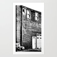 The Lines of Things Art Print