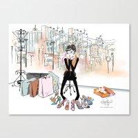 Shoe Boutique Canvas Print