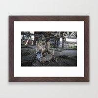 Throne of Man Framed Art Print