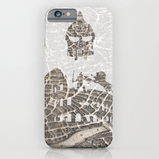 Rome of Gladiators - vintage map iPhone & iPod Case