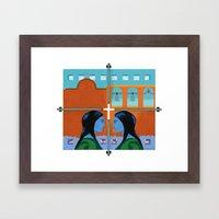 Congregation Framed Art Print