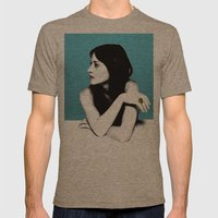 FIONA APPLE IDLER WHEEL Mens Fitted Tee Tri-Coffee SMALL