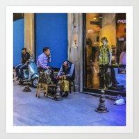 Travel Diary - Istanbul  Art Print