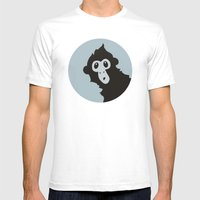 Spider Monkey - Peekaboo! Mens Fitted Tee White SMALL
