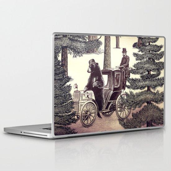 Two Gentlemen in the Forest Laptop & iPad Skin