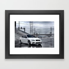 BMW M3 Framed Art Print