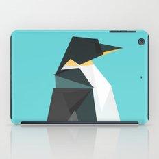 Fractal geometric emperor penguin iPad Case