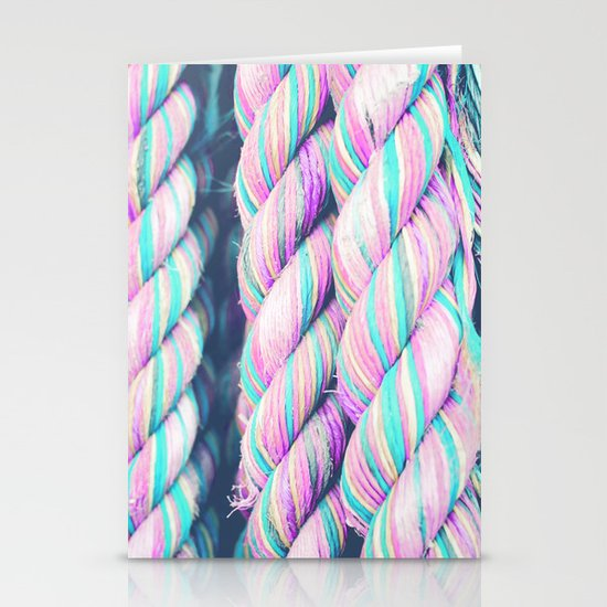 Candy Ropes Stationery Card